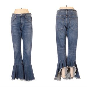 Citizens of Humanity COH Ruffle Hem Jeans Size 25